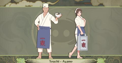 MMD Ayame and Teuchi + DL DISCORD