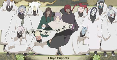 MMD Chiyo Puppet + DL