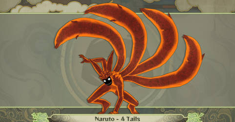 MMD Naruto 4 Tails
