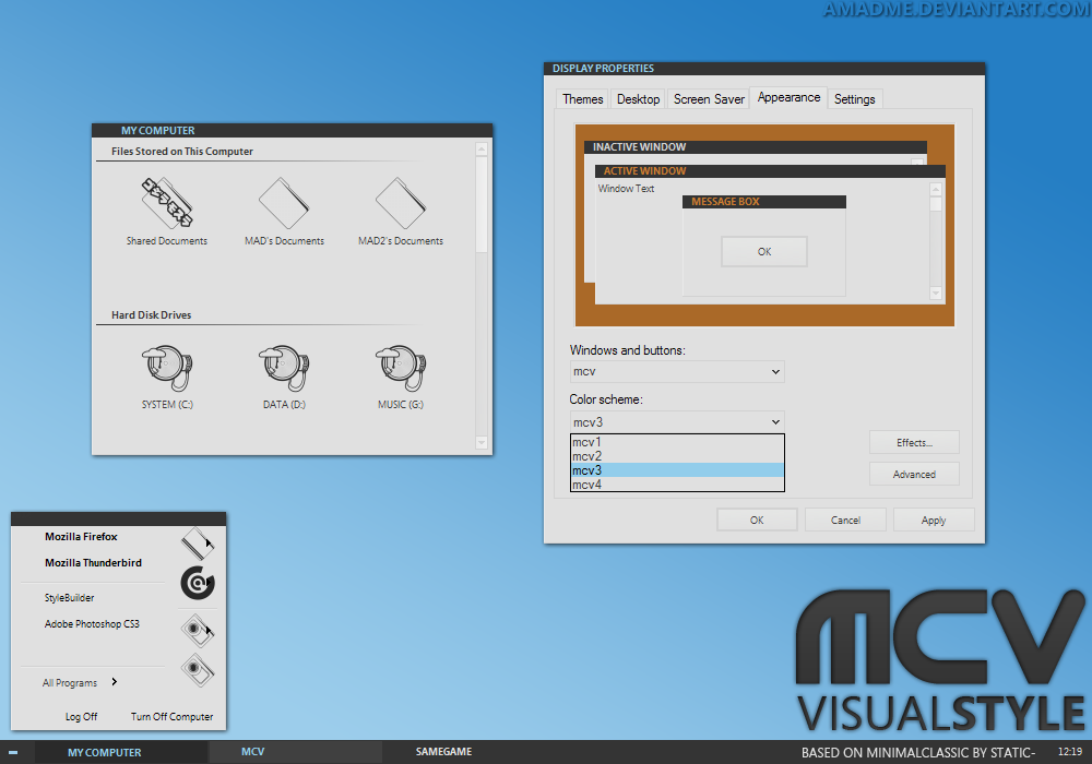 MCV visualstyle by aMADme