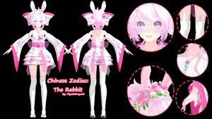 [MMD DL] Tda Chinese Zodiac: The Rabbit