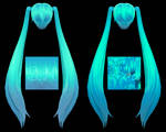 [MMD DL] Tda-Like Hair Texture Pack