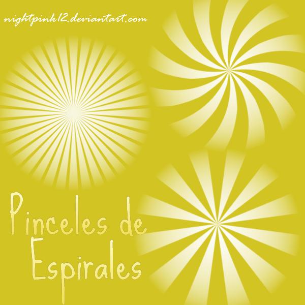 Pinceles de espirales by NightPink12