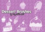 Dessert brushes