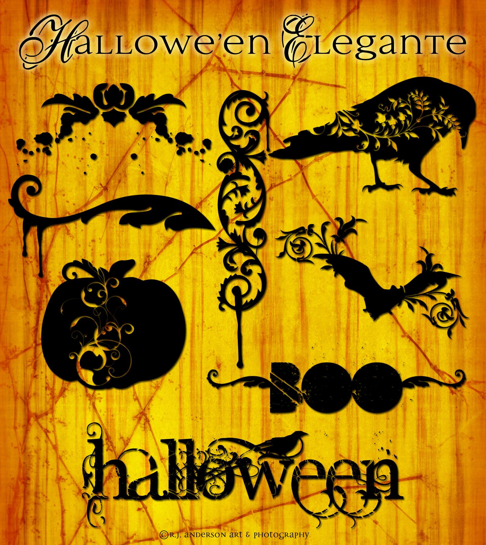Halloween Elegante by rjandersonart