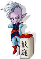 DBZ - Supreme Kai - Animated Page Doll by XxCute-KittyxX