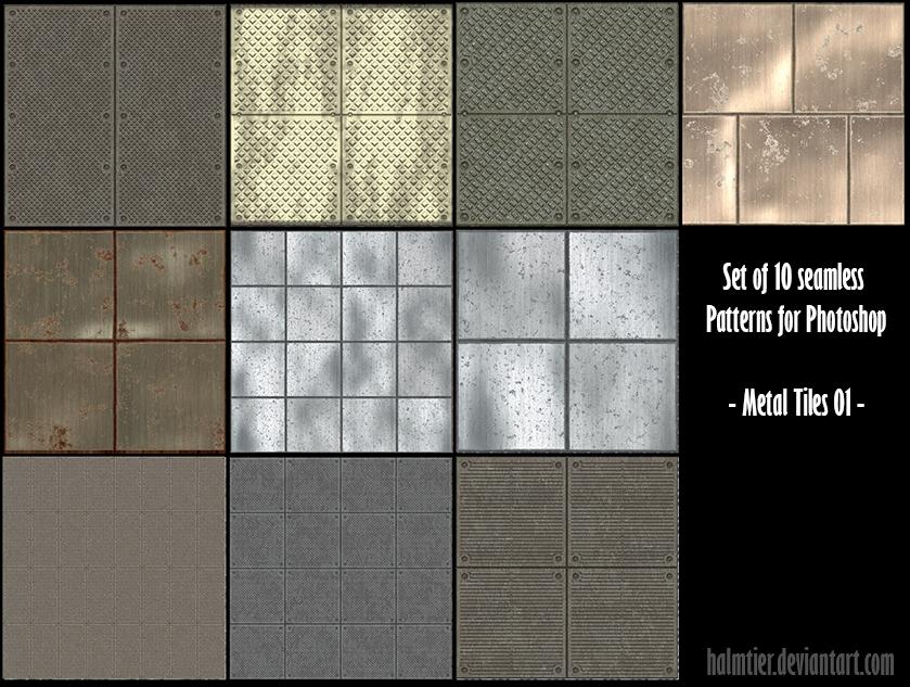 PS Pattern - Metal Tiles 01