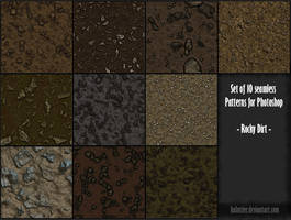 PS Patterns - Rocky dirt by halmtier