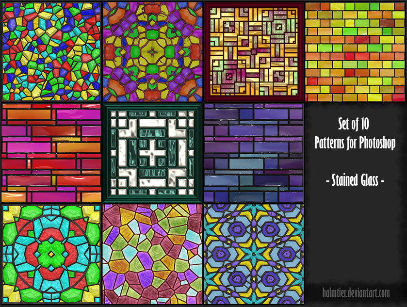 Stained Glass by halmtier
