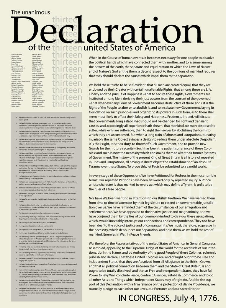 declaration of independence pdf download