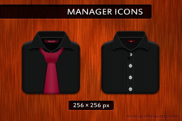 Manager icons by msergt