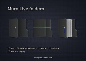 Muro Live folders by msergt