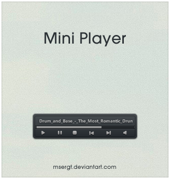 Mini Player by msergt