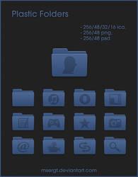 Plastic Folders by msergt