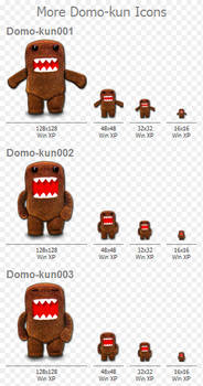 More Domo-kun Icons
