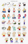 The Family Guy Icons