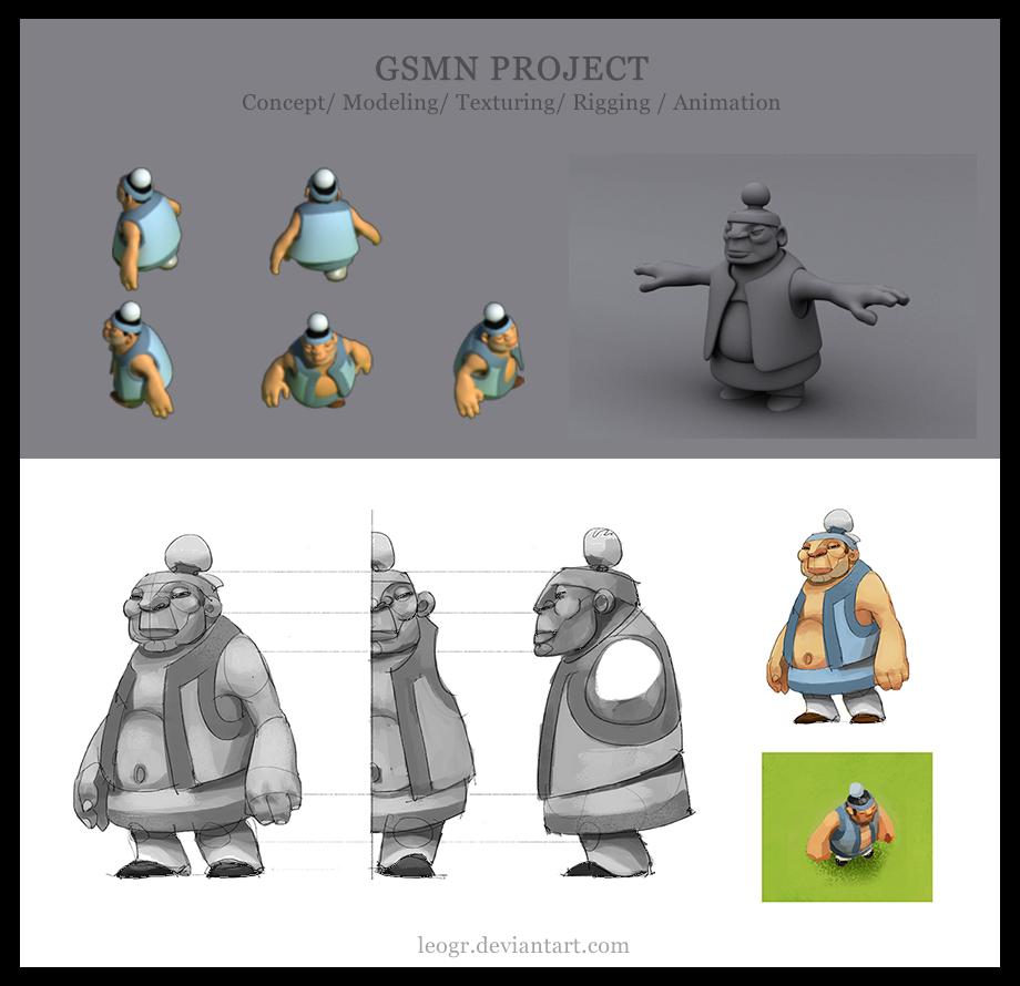 GSMN - 3d works by LeoGr