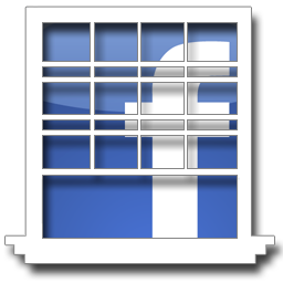 Window Social Media Icons by guynumber6