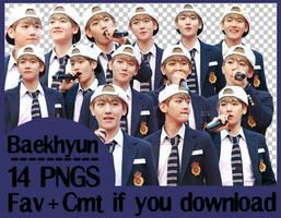 [Png Pack] Baekhyun #01 by KwonRiBi