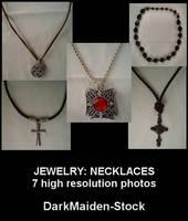 Jewelry: Necklaces by DarkMaiden-Stock
