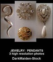 Jewelry:  Pendants by DarkMaiden-Stock
