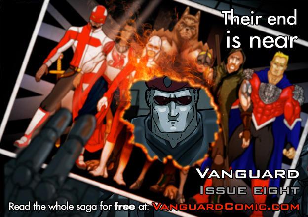 Vanguard Issue Eight Animated Promo