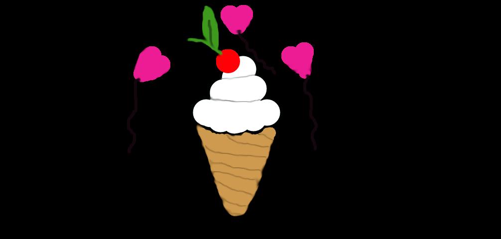 ice cream  cutie mark by hanasarahiera