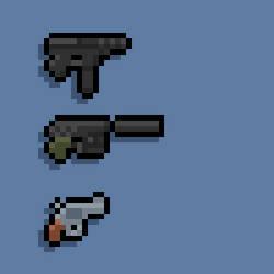 Pixel Pistols 2 by Ropolio