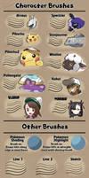 Pokemon-style brushes for Photoshop v2