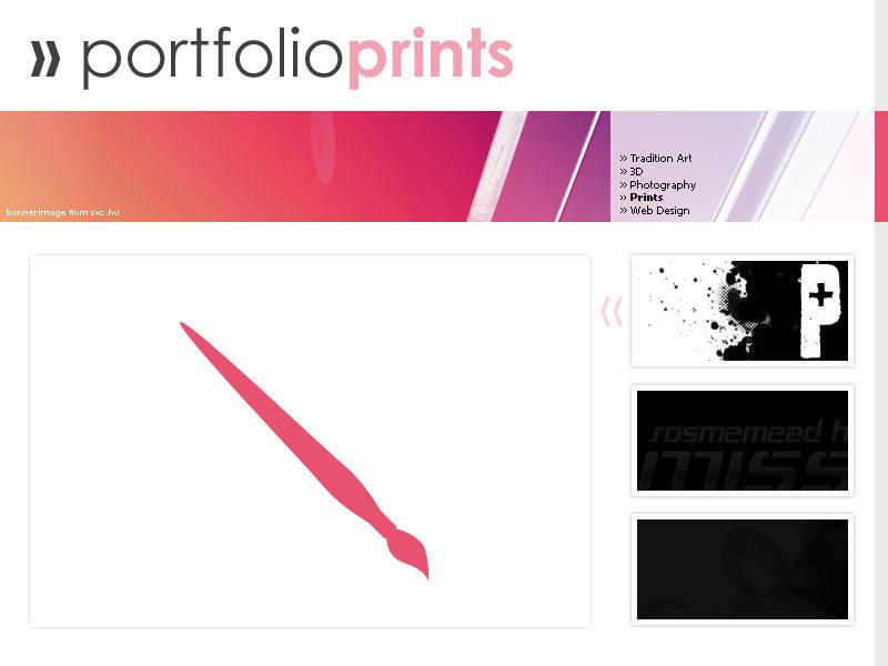 Portfolio Layout by ninkn