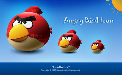 Angrybird Icon free by icondoctor