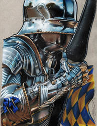 Metallic Knight Scanned In by KYLE-CHANEY