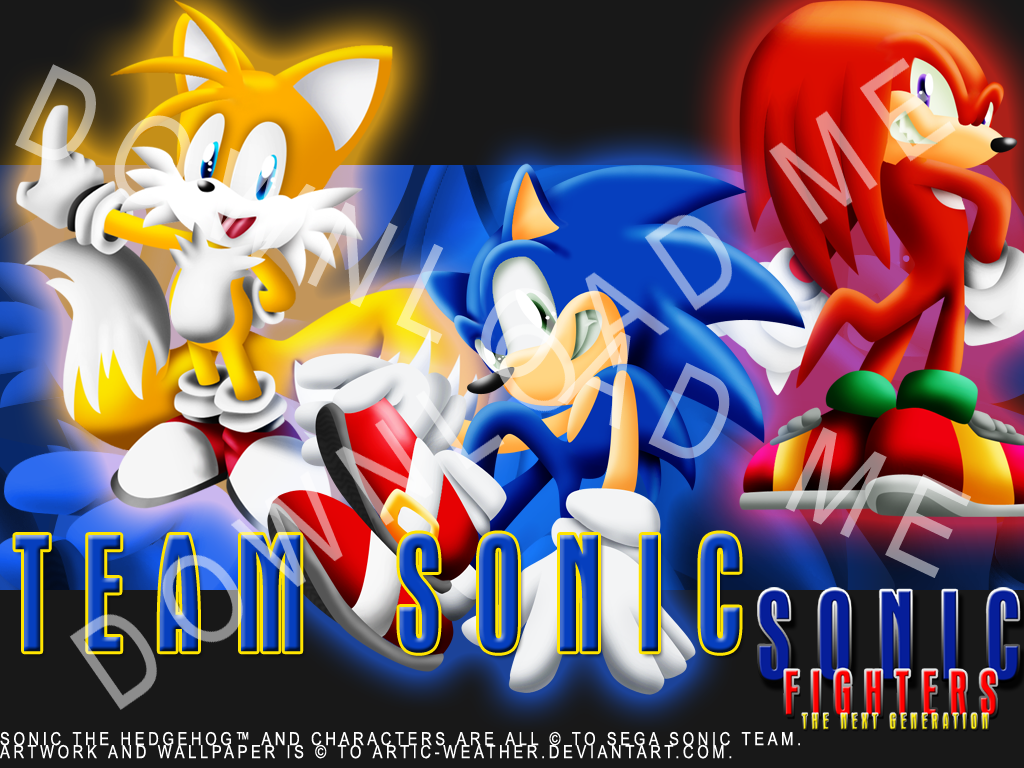 Snfg Team Sonic Wallpapers Artic Weather