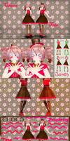 [MMD] ~Choco Series~ Raspberry Chocolate Teto [DL]