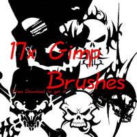 Gimp Brushes by V1N3