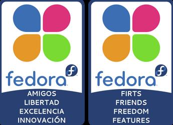 Fedora Foundation Stickers by williamjmorenor