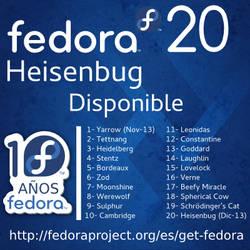 Fedora 20 banner by williamjmorenor