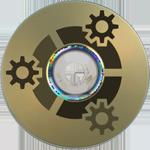 Kubuntu LightScribe Label by m-p-3