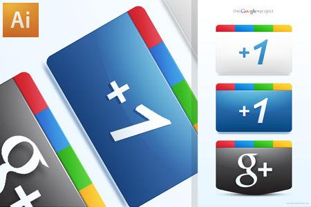 Google Plus + Icons Free AI