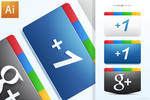 Google Plus + Icons Free AI