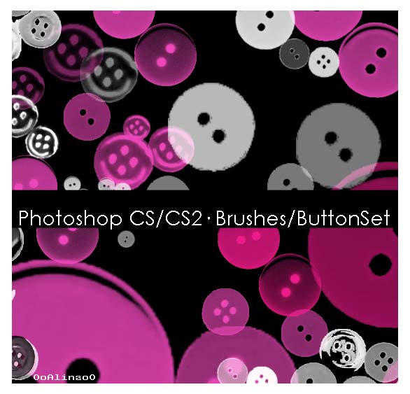 Button brush set by 00ALiNa00
