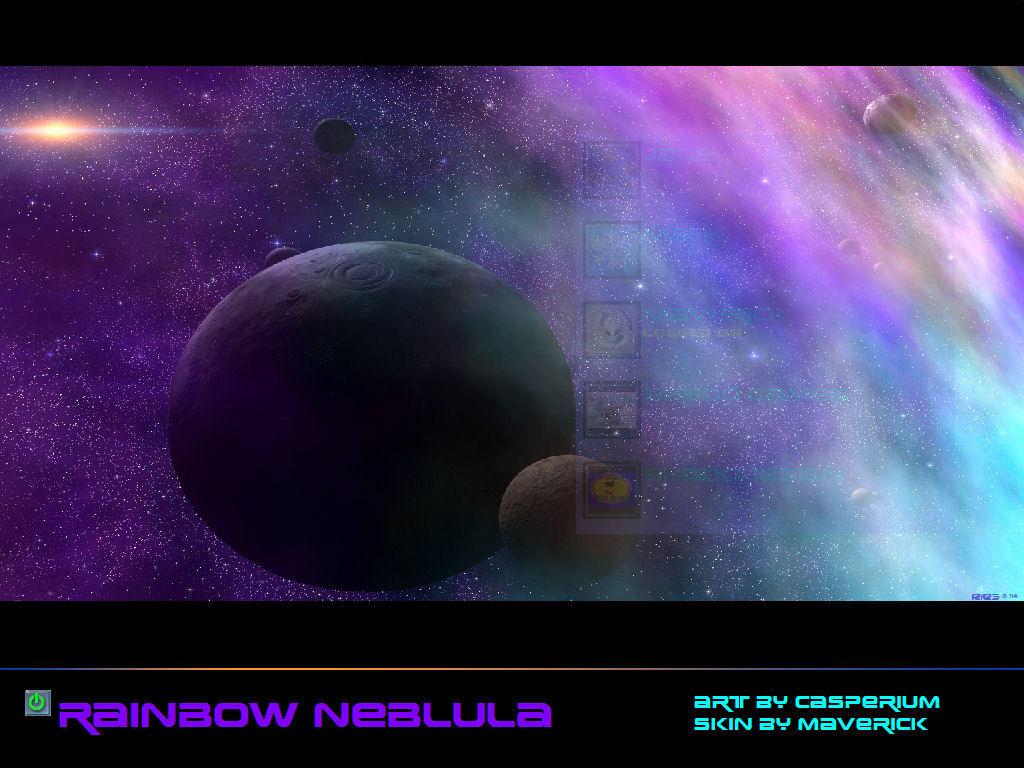 MOON OF THE RAINBOW NEBULA by TALONRIDDER