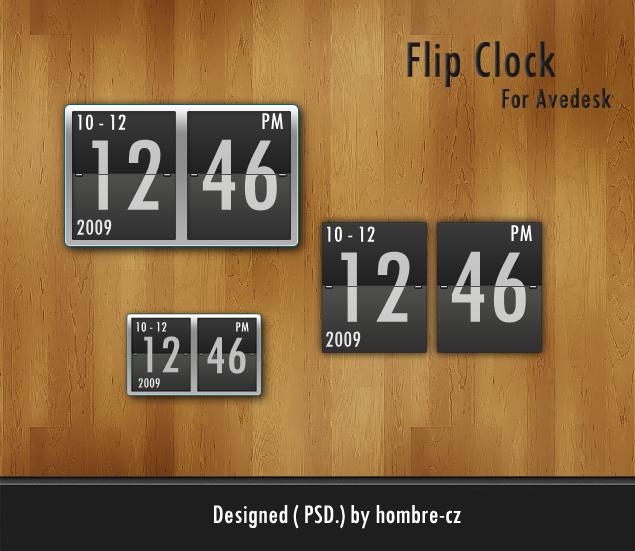 Flip Clock for Avedesk by RyanGe