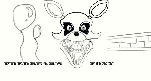 Fredbear's Foxy the Pirate Fox. by ToothlessJamaaAJ