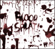Blood Splatter Brushes by doodlemancy