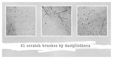 21 SCRATCH BRUSHES by unsweet