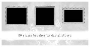 20 STAMP BRUSHES by unsweet