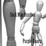 Stick Man Brushes