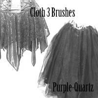 Cloth3 Brushes by Purple-Quartz-Brush