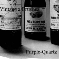 Vintage 2 Brushes by Purple-Quartz-Brush